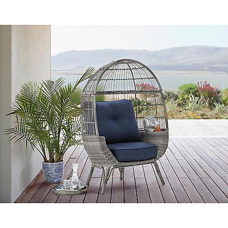Member's Mark Stationary Egg Chair (Grey)