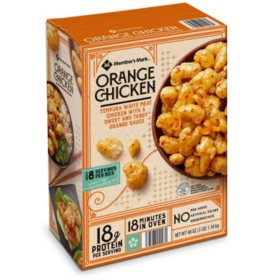 Member's Mark Tempura Orange Chicken, Frozen (48 oz.)