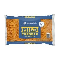 Member's Mark Standard Shredded Mild Yellow Cheddar Cheese (5 lbs.)