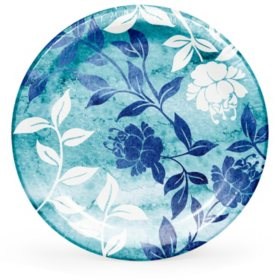 Member's Mark Watercolor Vines Paper Plates 90 ct.