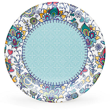 Member's Mark Summer Wonderland Paper Plates - 90 ct.