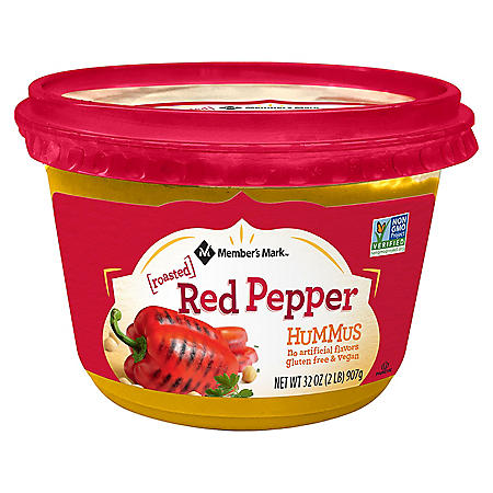 Member's Mark Roasted Red Pepper Hummus (32 oz.)