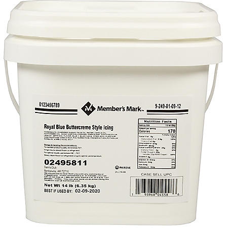 Member's Mark Color Buttercreme Icing (14 lbs.)
