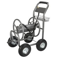 Member's Mark Hose Reel Cart with Steel Basket