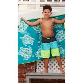 "Member's Mark Kids' Beach Towel 30"" x 60"" (Assorted Colors)"