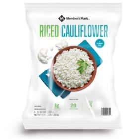 Member's Mark Riced Cauliflower, Frozen (12 oz., 4 pk.)