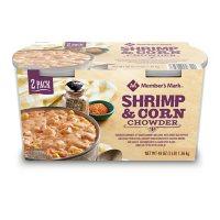 Member's Mark Shrimp and Corn Chowder (24 oz. tub, 2 ct.)