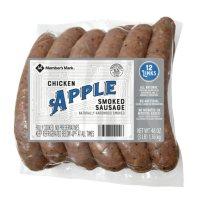 Member's Mark Smoked Apple Chicken Sausage (12 ct.)
