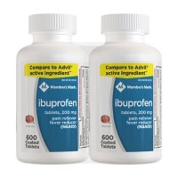 Member's Mark Ibuprofen Tablets 200 mg (600 ct., 2 pk.)