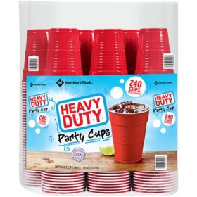 Member's Mark Heavy-Duty Red Cups (18 oz., 240 ct.)