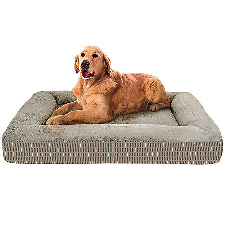 "Member's Mark Bolster Pet Bed, 30"" x 40"" - Various Colors"