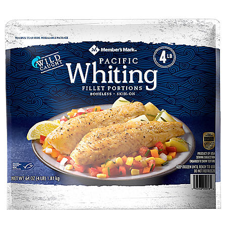 Member's Mark Whiting Fillets (4 lbs.)