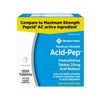 Member's Mark Acid-Pep Famotidine Tablets, 20 mg (100 ct., 2pk.)