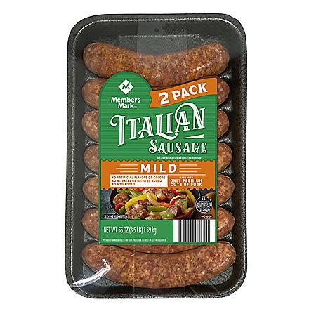 Member's Mark Mild Italian Sausage (14 ct.)
