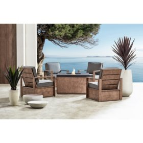 Member's Mark Java 5-Piece Fire Chat Set