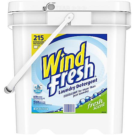WindFresh Powder Laundry Detergent, Original (35 lbs., 215 loads)