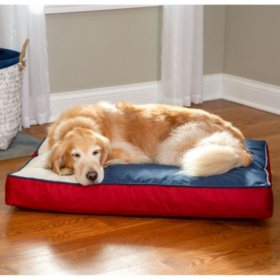 """Member's Mark Indoor/Outdoor 36"""" x 27"""" Pet Bed (Choose Your Color)"""