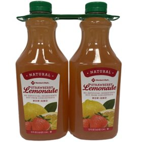 Member's Mark Strawberry Lemonade (52 fl. oz., 2 pk.)