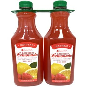 Member's Mark Raspberry Lemonade (52 fl. oz., 2 pk.)