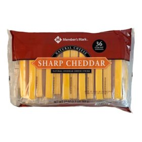Member's Mark Sharp Cheddar Cheese Sticks (36 ct.)