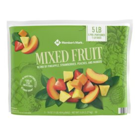 Member's Mark Mixed Fruit, Frozen (16 oz. bags, 5 ct.)