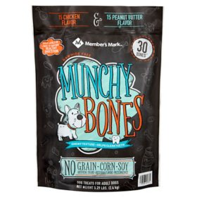 Member's Mark Munchy Bones Dog Treats for Adult Dogs (5.29 lb.)