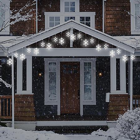 Member's Mark 18' LED Snowflake Lights
