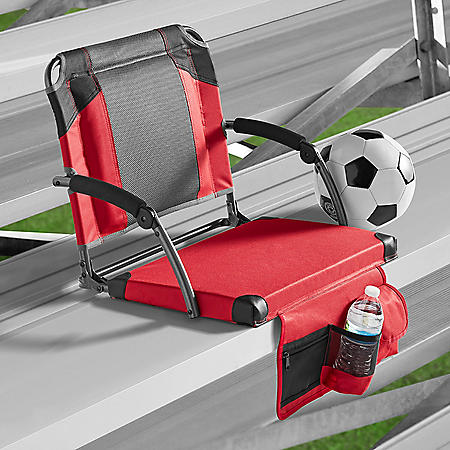 Member's Mark Deluxe Stadium Seat with Lumbar Support