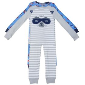 Member's Mark Boy's 4-Piece Super Soft Snugfit Cotton Pajama Set