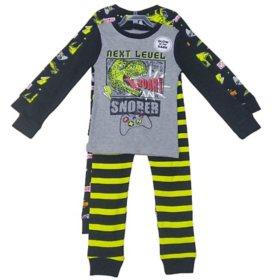Member's Mark Boy's 4-Piece Super Soft Snugfit Cotton Pajama Set