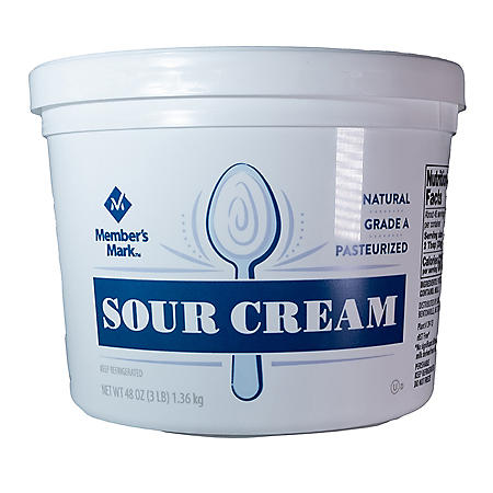 Member's Mark Grade A Sour Cream (48 oz.)