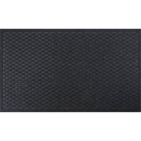 Member's Mark Antimicrobial 3x5 Entrance Mat, Diamond Scraper (Charcoal)