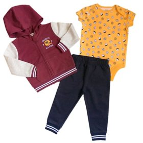 Member's Mark Infant 3-Piece Vest Cardigan Set