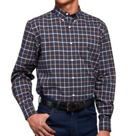 Member's Mark Men's Long Sleeve Poplin Shirt