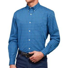 Member's Mark Men's Long Sleeve Poplin Shirt