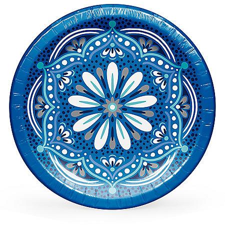 "Member's Mark Mandala Magnificence Paper Plates, 10"" (90 ct.)"