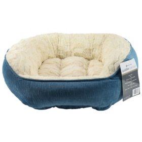 """Member's Mark Cuddler Pet Bed, 29"""" x 28"""" - Various Colors"""