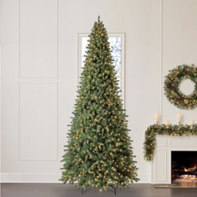 Member's Mark 12' Virginia Quick-Set Simple Shape Artificial Christmas Tree