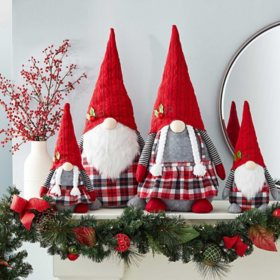 Member's Mark 4-Piece Gnome Family Set