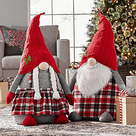 Member's Mark 2-Piece Oversized Gnome Set