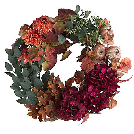 """Member's Mark 26"""" Harvest Wreath (Trend)"""