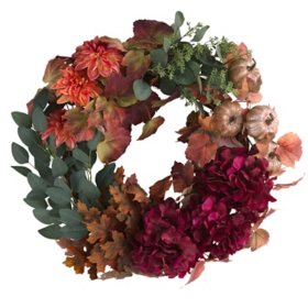 "Member's Mark 26"" Harvest Wreath (Trend)"