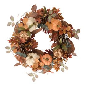 "Member's Mark 26"" Harvest Wreath (Traditional)"