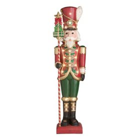 Member's Mark Pre-Lit 6' Grand Nutcracker with 23 LED Lights