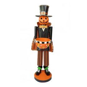Member's Mark 4' Pre-Lit Pumpkin Head Halloween Door Greeter