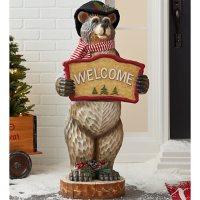 """Member's Mark 42"""" Holiday Bear Decor"""