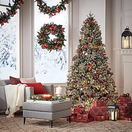 Member's Mark 7.5' Pre-Lit Dorchester Spruce Christmas Tree