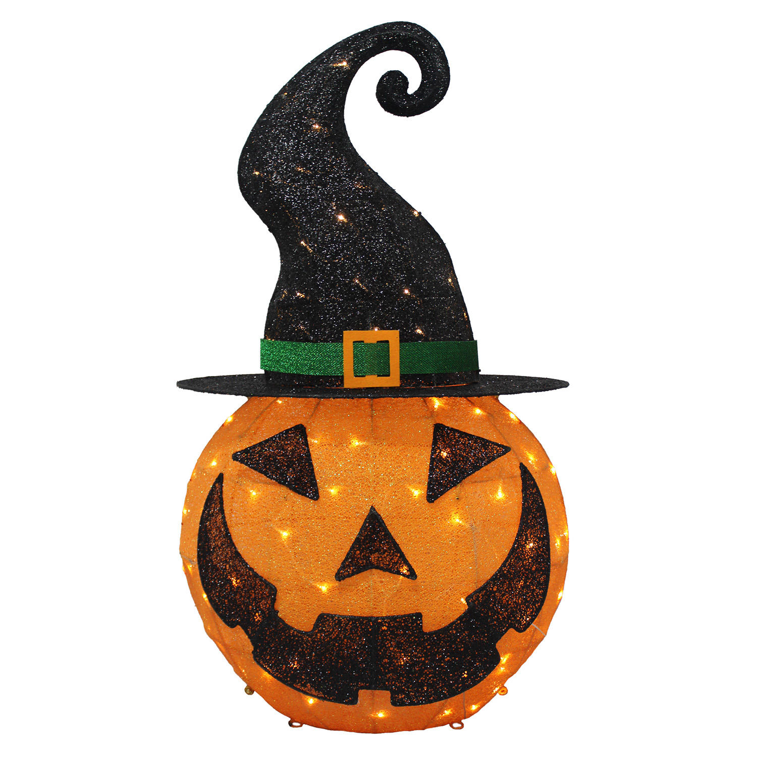 Member's Mark Pre-Lit Mesh Pumpkin Decor