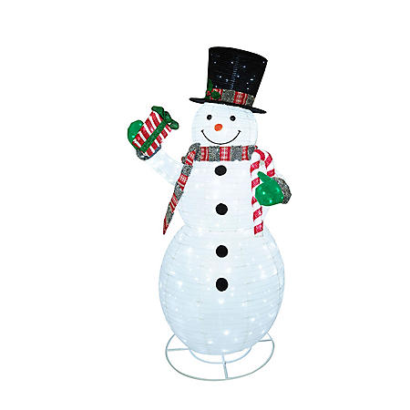 Member's Mark 84'' Pre-Lit LED Pop-up Twinkling Snowman