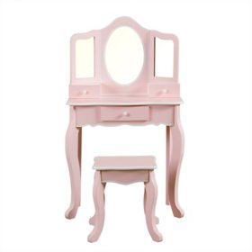 Member's Mark Play Vanity Table with Stool Set